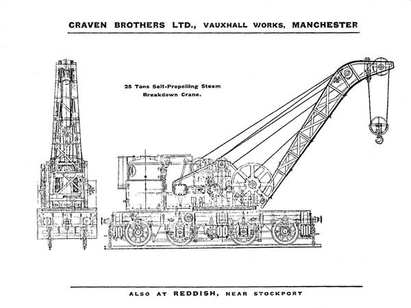 Craven 25-ton BDC drawing