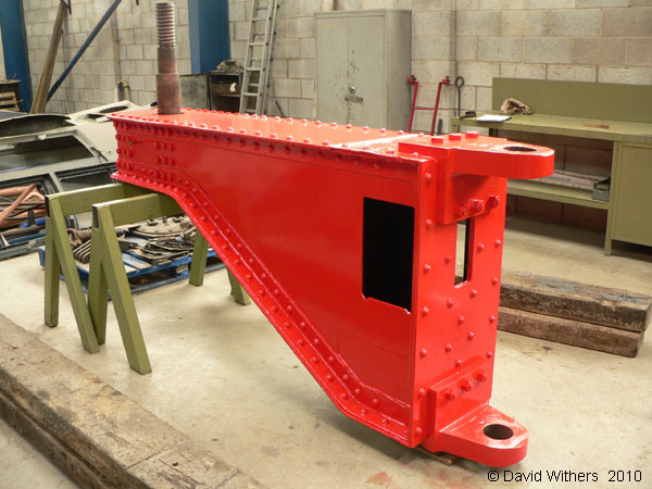Load beam from relieving bogie