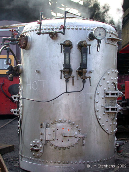 MP3 boiler on test